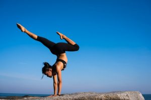 yoga pose representing willpower and strength